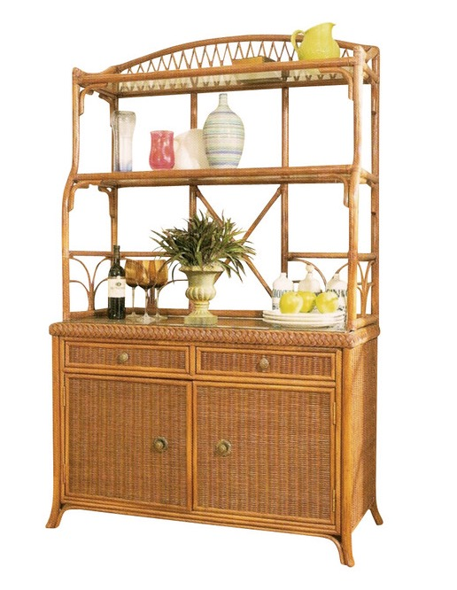 Wicker bakers rack wicker paradise for Affordable furniture in baker