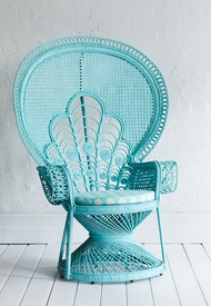 Wicker Bridal Chair