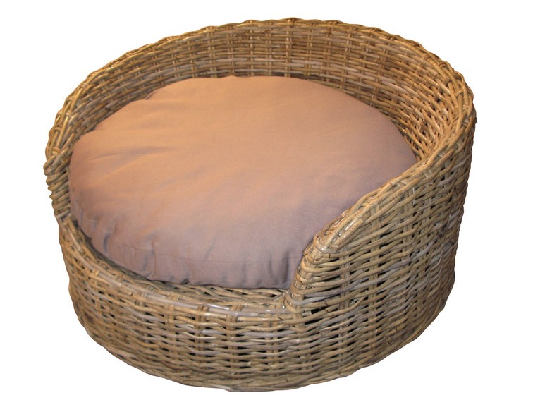 Wicker Dog Bed Medium Size Wicker Paradise
