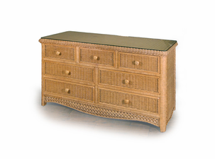 Wicker Double Dresser Kona