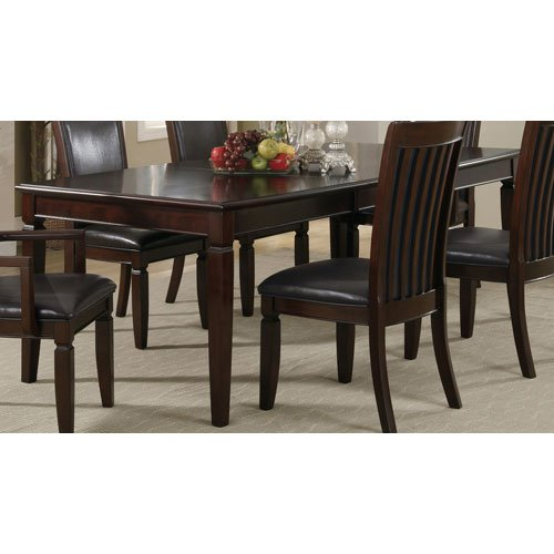 Buy 101631 d formal dining dining table at for Wild orchid furniture