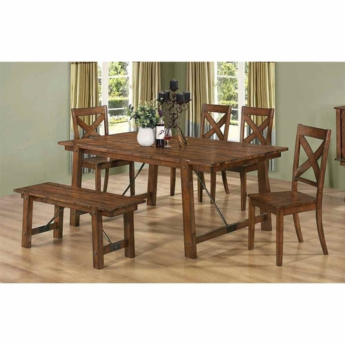 Buy 103991 d semi formal dining dining table at for Wild orchid furniture