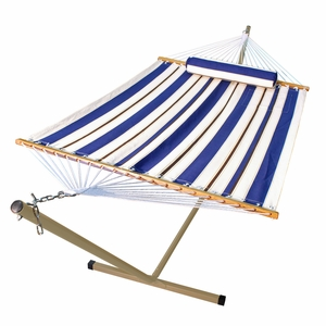 11' Fabric Hammock, Pillow, and Stand Combination by Algoma