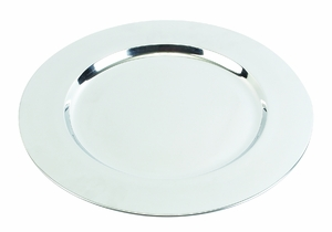 Stainless Steel Charger Plates Set of 36 - 11189 by Benzara
