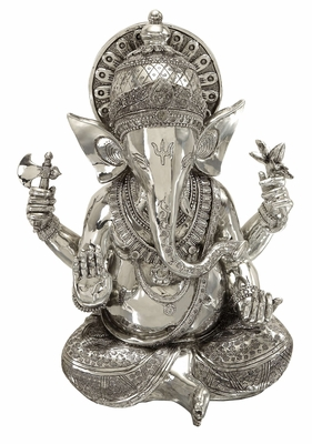 POLYSTONE GANESHdecor WITH RELIGIOUS BLEND - 44158 by Benzara