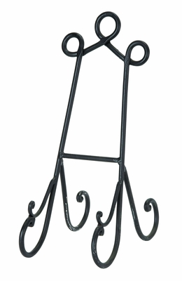 Wedding Easels Cook Books Art In Black Finish - 26587 by Benzara