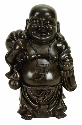 Polystone Buddha For Religious Home Decor - 49922 by Benzara