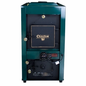 1802G Clayton, Wood/Coal With Draft Kit, Twin 800 Cfm Blowers by US Stove