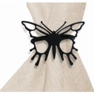 2.06 Inch Butterfly Napkin Ring