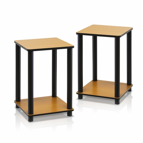 Buy 2 99800RLC Furinno Turn N Tube End Table Corner Shelves,Set Of 2 At  Wildorchidquilts.net