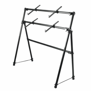 2-Tier A-Frame Keyboard Stand