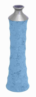 """20""""H Ceramic Vase With Strong Base And Enchanting Shape - 57247 by Benzara"""