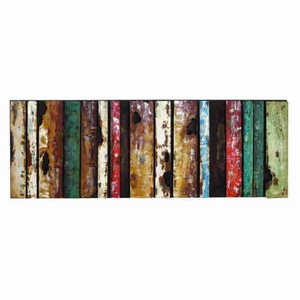 Beautiful Metal Wall Decor With Rectangular Design - 38557 by Benzara