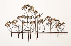 METAL wall decor WITH GREAT NATURE SENSE - 97985 by Benzara
