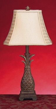 Polystone Table Lamp Delivers Unique Lighting Effect - 27072 by Benzara