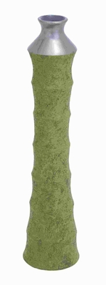 """28""""H Ceramic Tall Vase With Appealing Shape And Pattern - 57251 by Benzara"""