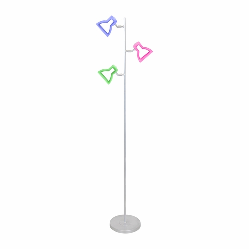Buy 2d led tree floor lamp multi by lumisource at for Multi led floor lamp