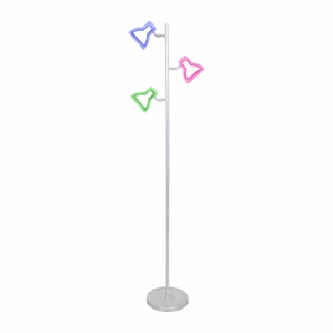 2D LED TREE Floor Lamp Multi by Lumisource
