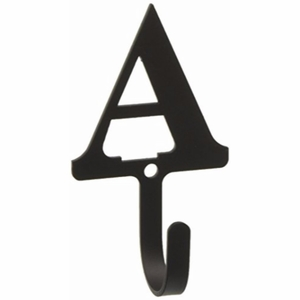 3.63 Inch Letter A Wall Hook Small