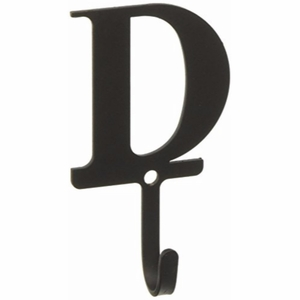 3.63 Inch Letter D Wall Hook Small