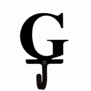 3.63 Inch Letter G Wall Hook Small