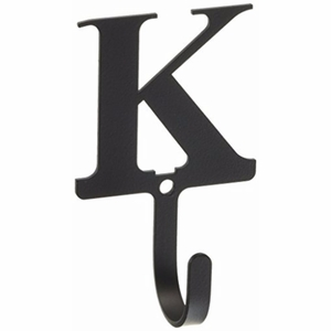 3.63 Inch Letter K Wall Hook Small