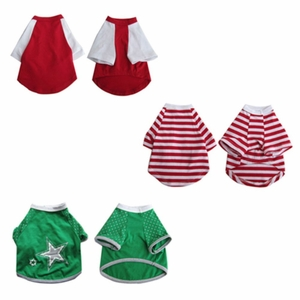 3 Pack Pretty Pet Apparel with Sleeves - X-Large