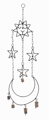 Beautifully Crafted High Quality Metal Wind Chime Hanger - 26728 by Benzara