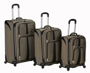 3Pc Eclipse Spinner Luggage Set