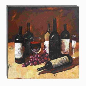 Modern And Unique Canvas Art With Elegant And Solid Design - 54574 by Benzara