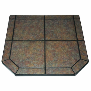 40 Inch Tile Hearth Pad - Type 1 - Tartara by US Stove