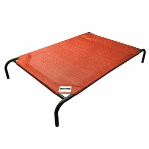 Coolaroo Elevated Pet Bed Medium Terracotta
