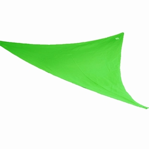 Coolaroo Kool Kolors Party Sail Triangle 9 Feet 10 Inch Lime Green