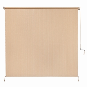 Coolaroo Exterior Cordless Roller Shade 8ft x 6ft' Southern Sunset