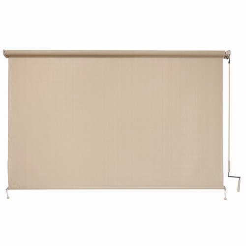 Buy coolaroo exterior cordless roller shade 6ft x 6ft sesame at Cordless exterior sun shades