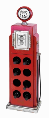 Gas Pump Wine Rack For Modern And ConventionalDecor - 53554 by Benzara