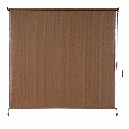 Buy Coolaroo Exterior Cordless Roller Shade 6ft X 6ft Mocha At