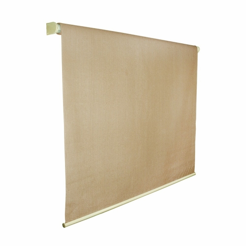 Buy coolaroo exterior cordless roller shade 6ft x 6ft almond at Cordless exterior sun shades