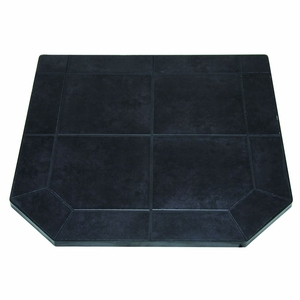 48 Inch Tile Hearth Pad - Type 2 - Black Jack by US Stove