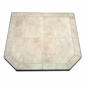 48 Inch Tile Hearth Pad - Type 2 - Carmel by US Stove