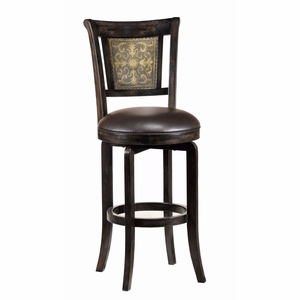 4861-826 Camille Swivel Counter Stool by Hillsdale