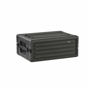 """4U Shallow Roto Rack with Steel rails (front/back), 10.5"""" deep (rail-to-rail) - 1R4S by SKB"""