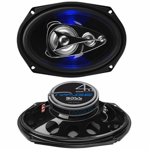 "500 WATTS MAX POWER 6"" x 9"" 4-WAY SPEAKER"