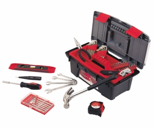 53 Piece Household Tool Kit with Tool Box
