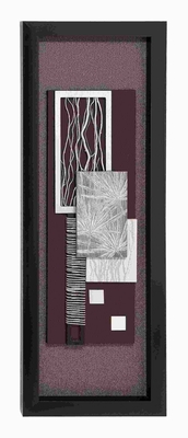 Wood Framed art with Shiny Matte Finish - 97503 by Benzara