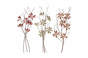 Metal Wall Decor 3 Assorted Excellent Anytime Wall Decor - 66733 by Benzara