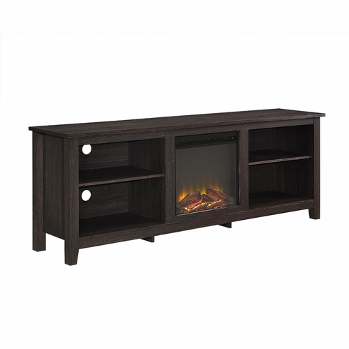 Buy 70 Fireplace Tv Stand Espresso At