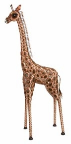 METAL GIRAFFE CAN BE USED IN HOUSE AND OFFICE BOTH - 74998 by Benzara