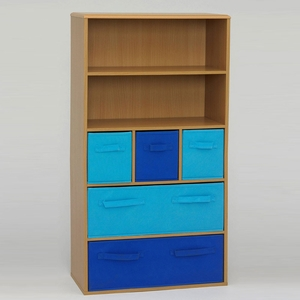 4D Concepts Absolute Customary Styled Boy's Storage Book Case