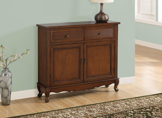 Buy accent chest dark walnut transitional style at for Wild orchid furniture